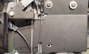 Fiat Talento 2014> Internal Latch Shield