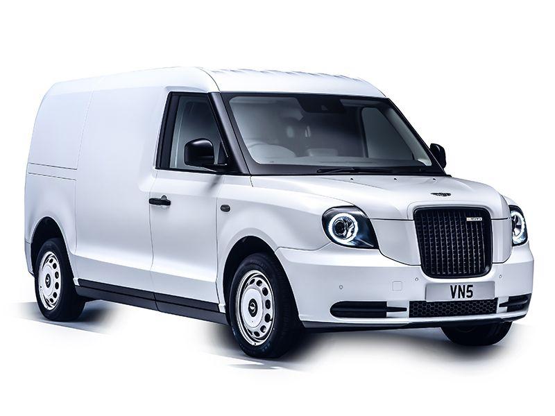 VN5 electric van commercial vehicle studio
