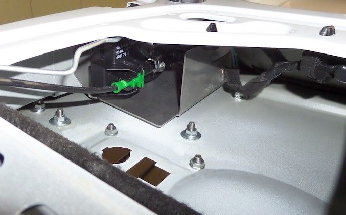 LEVC VN5 Internal Latch Shield