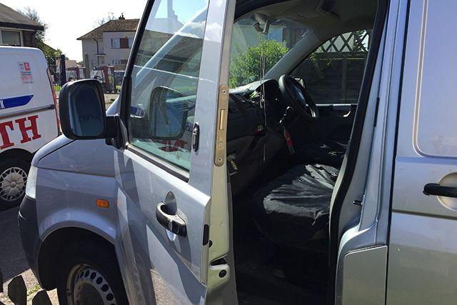 deadlock on passenger door
