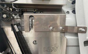 Ford Custom 2012> Internal Latch Shield