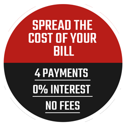 0% interest free payment option